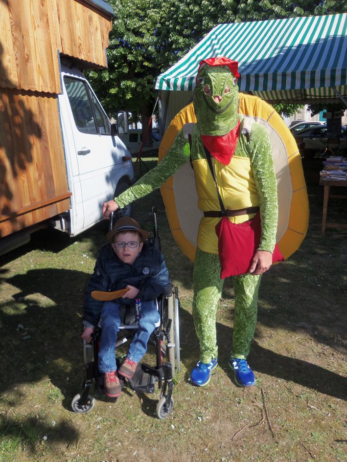 Rencontre avec Franklin la tortue