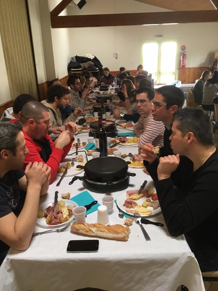 Déjeuner raclette