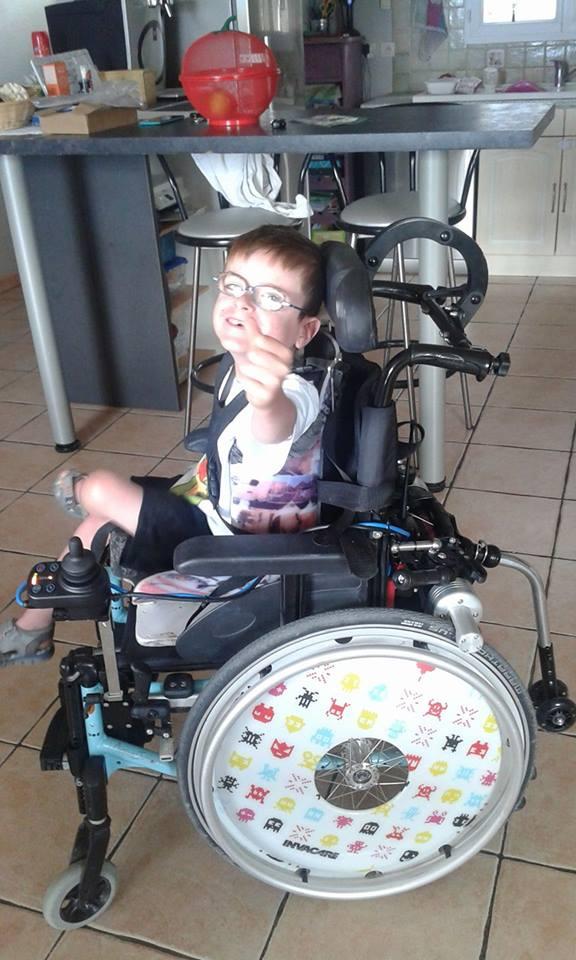 Nouveau fauteuil électrique