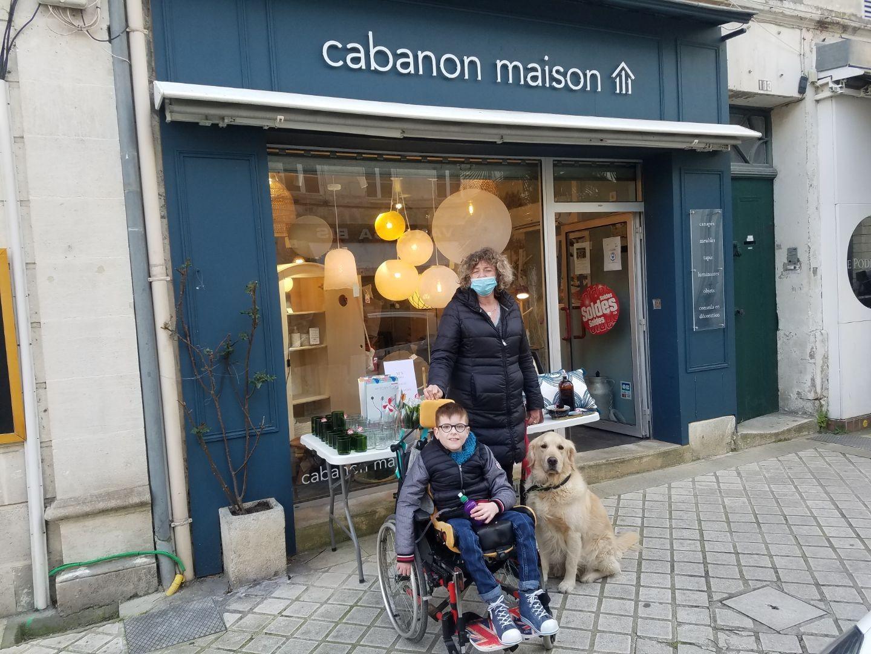 Opération avec Cabanon Maison