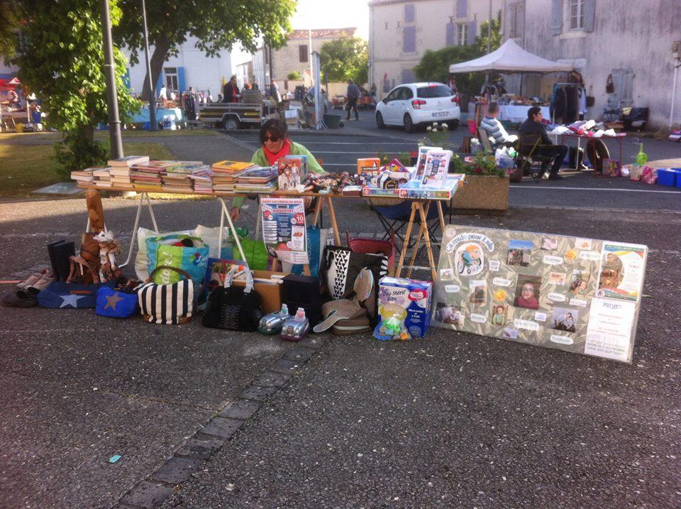 Vide greniers - St-Jean-de-Liversay