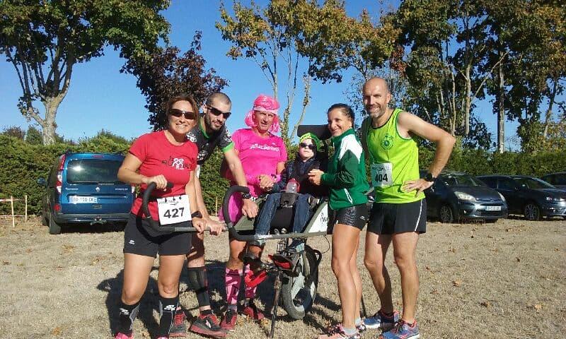 La team Lulu sur les 10 km de St-Pierre
