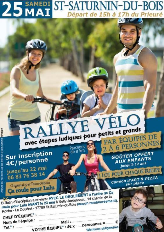 Rallye velo inscription