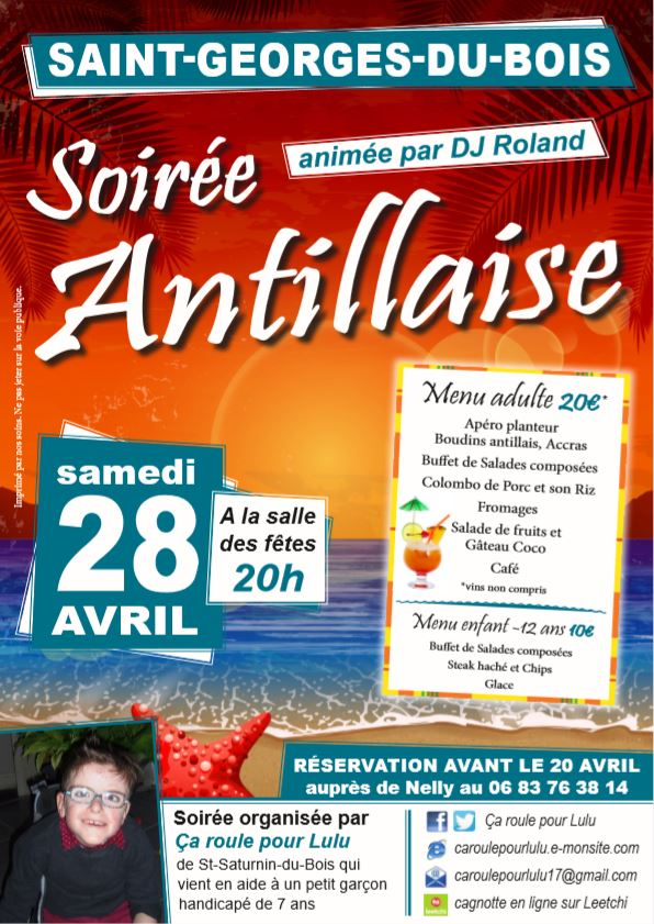 Soiree antillaise site